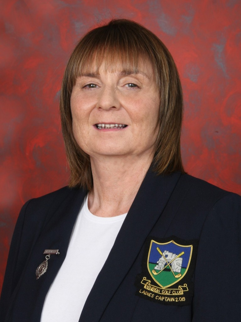 Denbigh Ladies' Captain 2019 Karen Jones
